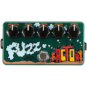 Zvex-Hand-Painted-Fuzz-Factory-Guitar-Effects-Pedal-Standard