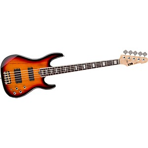 ESP-LTD-Surveyor-5-5-string--Electric-Bass-Guitar-3-Tone-Burst-Rosewood