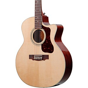 Guild-F-212XLCE-Standard-12-String-Cutaway-Acoustic-Electric-Guitar-Natural