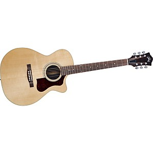 Guild-F-30RCE-Standard-Cutaway-Acoustic-Electric-Guitar-Natural
