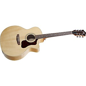 Guild-F-50CE-Standard-Cutaway-Acoustic-Electric-Guitar-Blonde