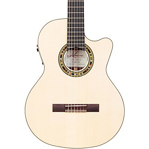 Kremona-FC65CW-Fiesta-Cutaway-Acoustic-Electric-Classical-Guitar-Natural