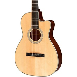 Recording-King-Studio-Series-12-Fret-OO-Acoustic-Guitar-with-Cutaway-Natural