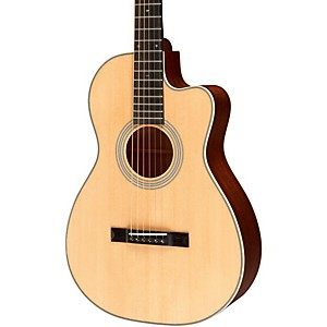 Recording-King-Studio-Series-12-Fret-O-Acoustic-Guitar-with-Cutaway-Natural