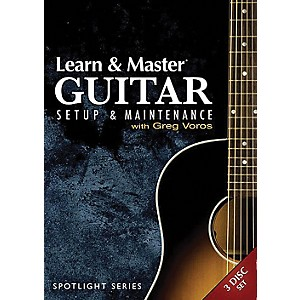 Hal-Leonard-Learn---Master-Guitar-Setup-And-Maintenance-3-DVD-Set-Legacy-Of-Learning-Series-Standard