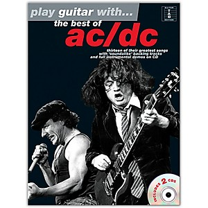 Music-Sales-Play-Guitar-With-The-Best-Of-AC-DC--Book---2-CD-s--Standard