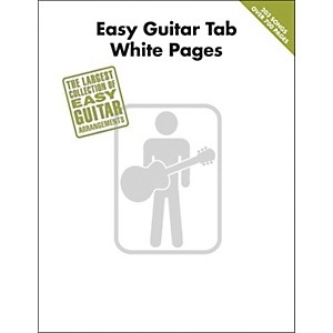 Hal-Leonard-Easy-Guitar-Tab-White-Pages-Songbook-Standard
