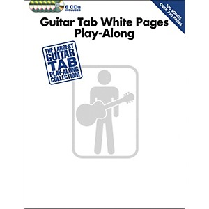 Hal-Leonard-Guitar-Tab-White-Pages-Play-Along--Book-6-CD-Pack--Standard
