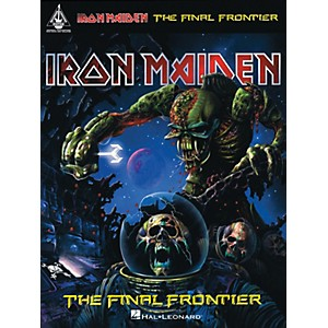 Hal-Leonard-Iron-Maiden---The-Final-Frontier-Guitar-Tab-songbook-Standard