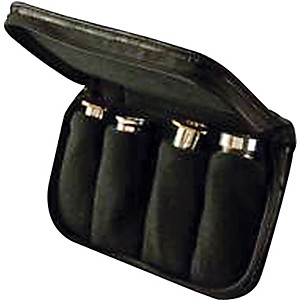 Denis-Wick-Trumpet---Cornet---French-Horn-Leather-4-Piece-Mouthpiece-Pouch-Standard