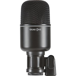 Gear-One-MK1000-Kick-Drum-Mic-Black