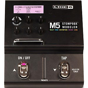Line-6-M5-Stompbox-Modeler-Guitar-Multi-Effects-Pedal-Standard