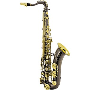 Keilwerth-SX90R-Black-Nickel-Model-Professional-Tenor-Saxophone-Black-Nickel-with-Gold-Lacquer-Keys