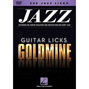 Hal-Leonard-200-Jazz-Licks---Guitar-Licks-Goldmine-DVD-series-Standard