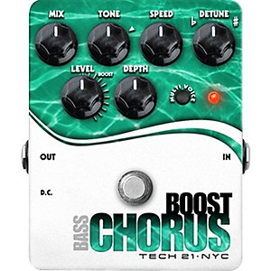 Tech-21-Boost-Chorus-Bass-Effects-Pedal-Standard