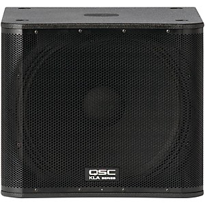 QSC-KLA181-Active-Line-Array-Subwoofer-Black