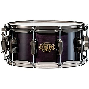 Ludwig-Epic-Snare-Drum-Transparent-Black-6-5x13