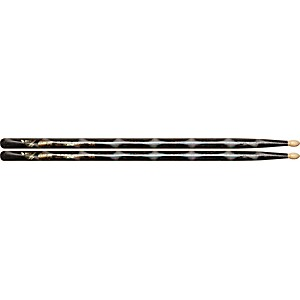 Vater-Color-Wrap-Wood-Tip-Sticks---Pair-5A-Black-Optic