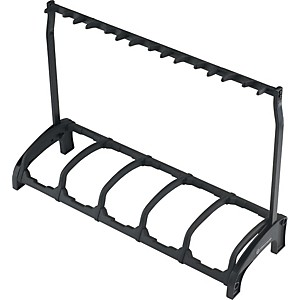 K-M-Guardian-5-Guitar-Stand-Rack-style--5-Guitars--Black