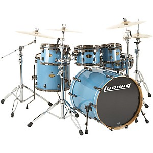 Ludwig-Epic-Funk-6-Piece-Shell-Pack-Celestial-Blue