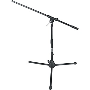 On-Stage-Stands-Drum---Amp-Tripod-Mic-Stand-with-Boom-Black