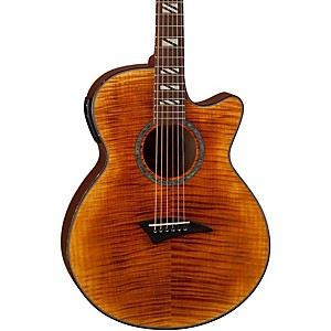 Dean-Performer-FM-Acoustic-Electric-Guitar-w-Aphex-Tiger-Eye