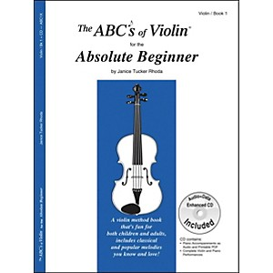 Carl-Fischer-The-Abc-S-Of-Violin-For-The-Absolute-Beginner-Book-CD-Standard