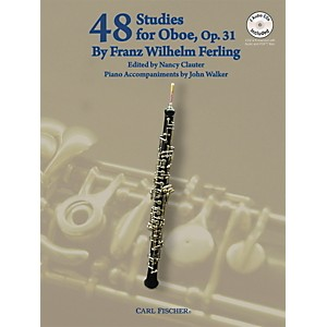 Carl-Fischer-48-Studies-For-Oboe-Book-CD-Standard