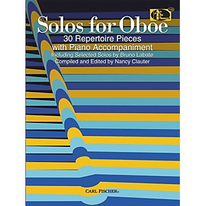 Carl-Fischer-Solos-For-Oboe-Book-Standard