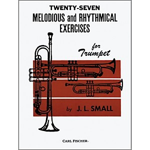 Carl-Fischer-Twenty-Seven-Melodious-And-Rhythmical-Exercises-Standard