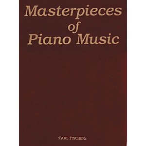 Carl-Fischer-Masterpieces-Of-Piano-Music-Standard