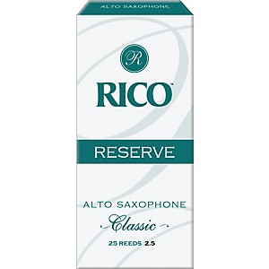 Rico-Reserve-Classic-Alto-Sax-Reeds-Box-of-25-Strength-2-5