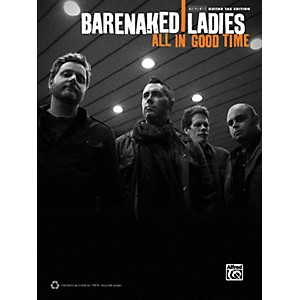 Alfred-Barenaked-Ladies---All-in-Good-Time-Guitar-TAB-Book-Standard