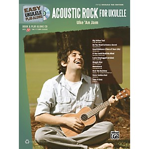 Alfred-Easy-Ukulele-Play-Along-Acoustic-Rock-Book-CD-Standard