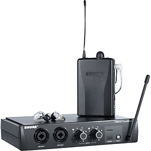 Shure-PSM-200-Wireless-Personal-Monitoring-System-with-SE215-Earphones-Clear