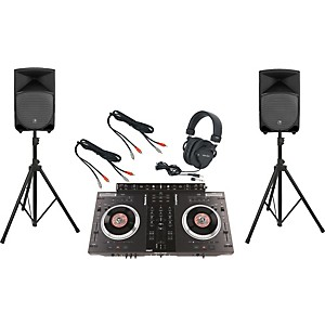 Numark-NS7FX---Mackie-Thump-TH-12A-DJ-Package-Standard