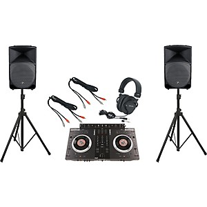 Numark-NS7FX---Mackie-Thump-TH-15A-DJ-Package-Standard