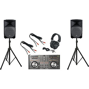 Pioneer-DDJ-T1---Mackie-Thump-TH-15A-DJ-Package-Standard