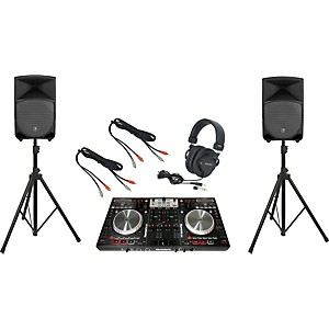 Pioneer-Numark-NS6---Mackie-Thump-TH-12A-DJ-Package-Standard