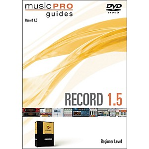 Hal-Leonard-Music-Pro-Guide-Record-1-5-Beginner-DVD-Standard