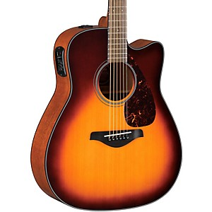 Yamaha-FGX700SC-Solid-Top-Cutaway-Acoustic-Electric-Guitar-Brown-Sunburst