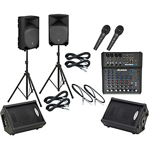 Alesis-Multimix-8-USB-FX---TH-12A-Mains---Monitors-Package-Standard