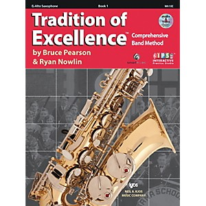 KJOS-Tradition-Of-Excellence-Book-1-for-Alto-Sax-Standard