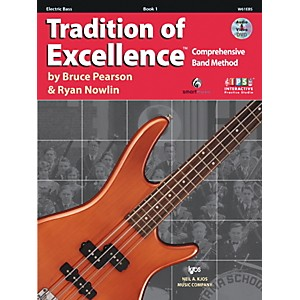 KJOS-Tradition-Of-Excellence-Book-1-for-Electric-Bass-Standard