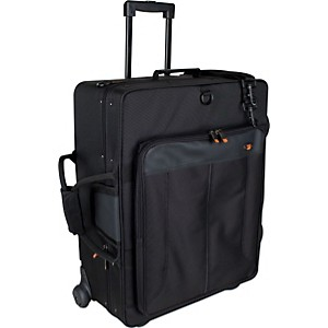 Protec-IP301QWL-iPAC-Quad-Trumpet-Case-with-Wheels-IP301QWL-Black