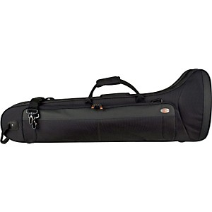 Protec-PB306CTCH-Contoured-Straight-F-Attachment-Tenor-Trombone-PRO-PAC-Case-PB306CT-Black