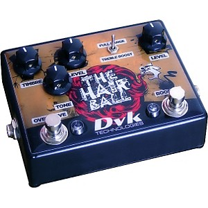 DVK-Hairball-Fuzz-and-Boost-Guitar-Effects-Pedal-Standard