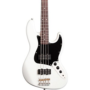 Fender-Modern-Player-Jazz-Electric-Bass-Guitar-Olympic-White-Rosewood-Fretboard