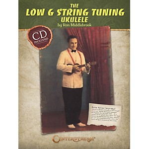 Centerstream-Publishing-The-Low-G-String-Tuning-Ukulele--Softcover-Book-And-CD--Standard