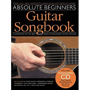 Music-Sales-Absolute-Beginners-Guitar-Songbook--Book-CD--Standard
